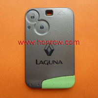 Hot-selling Original Renault Laguna 2 Button Remote Key with PCF7947 Chip and 433MHZ Laguna smart card
