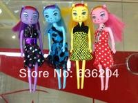 2013 Fashion toys Popular catwalk kitties dolls plastic girls' gift toys 7 INCH vinyl doll toys  free shipping