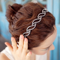 1PCS Free Shipping Hot Selling hair accessory leaves wave slip-resistant headband