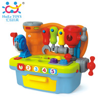 Department of music toy 907 multifunctional tool sets child puzzle building blocks of storage box artificial tools combination