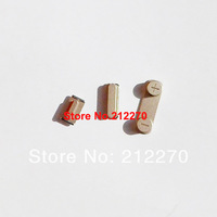30pcs(10set) Golden Original New Complete Side Buttons Power Volume Mute Switch Key Set Parts For iPhone 5S Best Quality