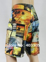 BRAND NEW Men's Orange Board Shorts 36 38 30 32 34 BOARDSHORTS Bermuda Shorts Beach Shorts Swim Trunks Surf Pants FREE SHIPPING
