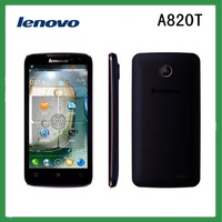 New A820T Original Lenovo A820T mobile phone Quad core 4.5 inch 4GB ROM 8MP SG Free Shipping ADD 8GB TF CARD Gift