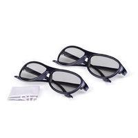 New AG-F310 2012 Model Cinema 3D Glasses For LG 2 Pairs Black