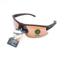 2pcs/lot  3112B-Brown Unisex Fashion Sport Cycling Glasses Fashion Driving Mirror sunglasses Free Shipping