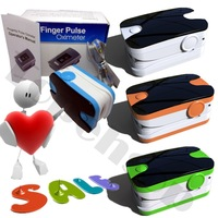 Top sales**5 pieces/lot   Fingertip Pulse Oximeter  Blood Oxygen SpO2 saturation oximetro monitor , Dual color display