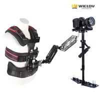 New Promotion* 1-9.5kg WIELDY Steadicam II Vest Dual Arm Steadycam I Stabilizer DSLR HOT