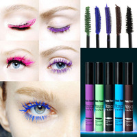 5pcs/lot  2014 New Brand Coseplay Color Waterproof  Lengthening Voluminous Eyelash Cream Makeup Mascara#EM001R