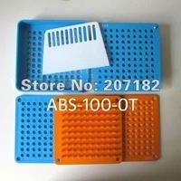 (1# capsule) 100 Cavity Encapsulation Machine, Manual Capsule Filler, Capsule Filling Machine with Tamping Tool
