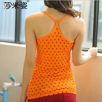 Free Shipping New 2014 Hot Brand Fashion Sexy Cotton Round Neck Slim Women Tanks Top Casual Women Clothing ST0013 Dropshopping