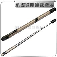 New arrival p44 9 with pen pointer guide pole direct pen retractable baton