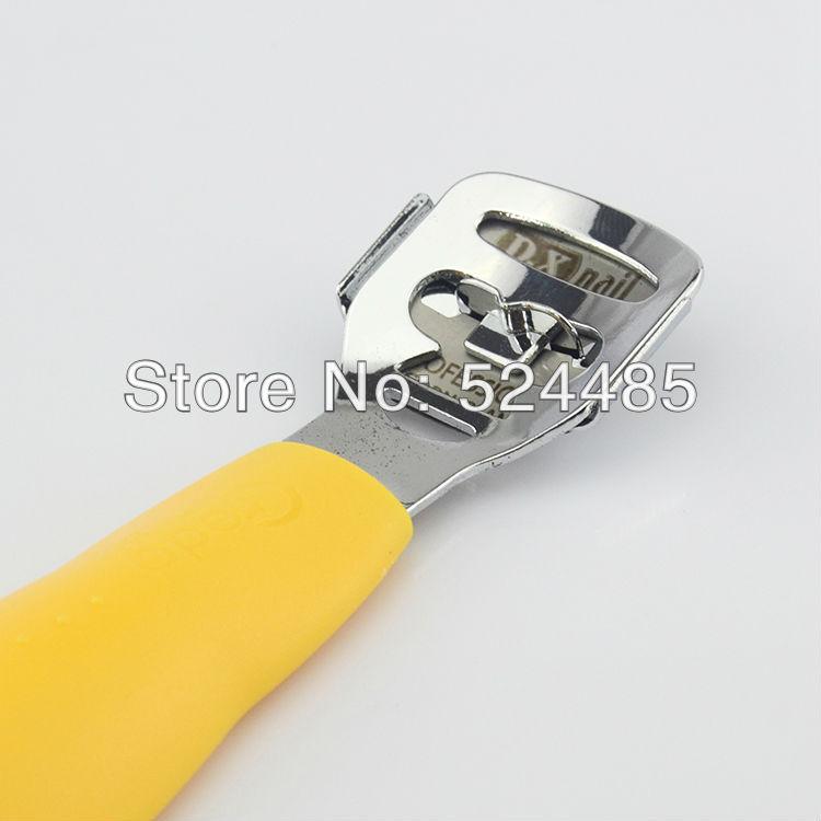 Pedicure Supplies Foot Rasp New 2014 Orange Corn Pedicure Rasp Foot File Callous Remover With 10pcs Corn
