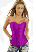 Free Shipping Newest Sexy Corset hot sale Strapless Bustier sexy nightwear