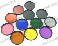 12pcs a lot *  Filter  Kit Neutral Density Filter Grey ND Blue  Set for Nikon D3100 D3200 D5100 SLR Camera