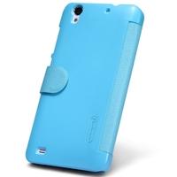 Original Nillkin Case for ZTE U969 3 Colors Fresh Series Leather PU Case, Luxury Flip Cover Wholesale/Retail Black Blue Red