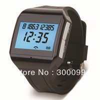 Standby 80hours Bluetooth Digital Watch handsfree / time number display / voice dial   free shipping