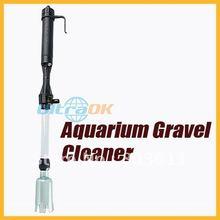 New Aquarium Siphon Vacuum Gravel Water Filter Auto Fish Tank Cleaner Washer(China (Mainland))