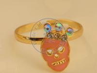 rings finger Fashion popular Jewelry for women Girl's skull royal pearl white design CN post