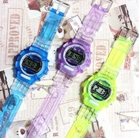 Free shipping wholesale  low price children watch fashion sports watches cartoon watches electronic watches multicolor