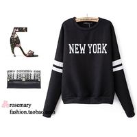 Spring 2014 Brand spring women's fashion personality punk sweatshirt
