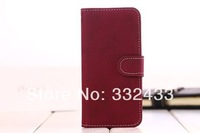free shipping New Leather Case For samsung galaxy s4 i9500 Case,Folio Stand Protector Skin  Cover,Anti-retro pattern slim