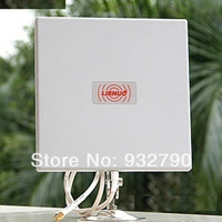 2.4Ghz 14dbi Directional flat Panel Antenna F WiFi wireless Router 14db+ Stand holder Waterproof indoor outdoor