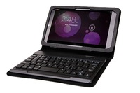 "PU Leather Stand Case with Removable Wireless Bluetooth keyboard For Dell Venue8 &  Venue8 Pro 8"" inch Tablet PC"