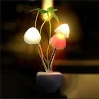 New Novelty Modern Sconce Wall LED Nightlights Ornamental Flowerpot Wall Lamps Solar 220V Led Lights Twilight Fixtures