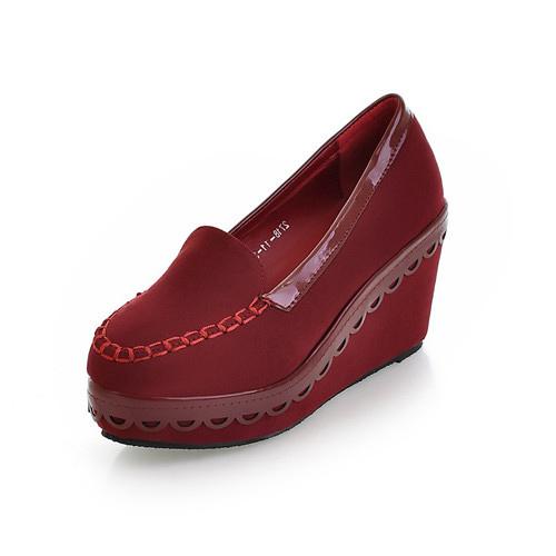 large size 9 10 11 12 s wedges heel platform