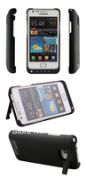 5PCS 2200mAh External Backup Extended Battery Cover Power Case Charger for Samsung Galaxy S2 i9100 II Sii Freeshipping