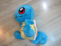 Details about Pikachu Pokemon blue turtle plush stuffed doll toy 30cm new