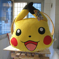 Details about Pokemon Pikachu happy face plush cushion pillow new