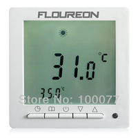 New FLOUREON Digital Room Heating Thermostat Weekly Programmable Floor Temperature Controller+3M Sensor Cable Free Shipping