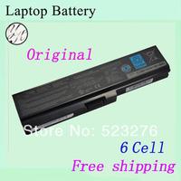 Free shipping  6-Cell  Original  laptop  Battery  For TOSHIBA PA3817U PA3816U PA3816U-1BRS PA3817U-1BRS