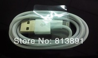 1500pcs/lots  USB Sync Data / Charging Cable for iPhone 5, Length: 1m