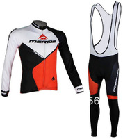 High Quality Hot Selling Newest 2014 Winter Fleece/Thermal Cycling Jersey(Maillot)+Bib Pant(Culot)//Some Sizes/Italy Ink