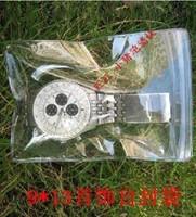 soft pvc transparent ziplock bags 9 * 13 25 wire / PVC plastic bags sealed bags bags Jade