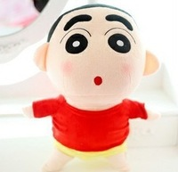 2014 New Crayon Shin-chan doll pillow size doll plush toy festival gift 35 mm recording free shipping