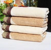 Free Shipping, 3pcs/Lot 100% Cotton Face Towel 72X34CM 100g/piece