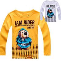 Children t shirts Boys t-shirt super Children's Sweatshirts Cartoon Boy t-shirts girl shirt outerwear lot new 2014 Hot selling