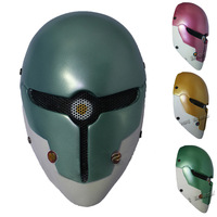 Gray fox  Mask for Airsoft Paintball Field Game survival war game Movie Prop Party Cosplay Full Face With Metal  Mesh Goggle