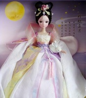 2014 New kurhn doll the goddess of the moon fairy body fairy with ancient costume clothes with cute rabbit  free shipping