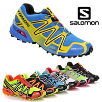 New Zapatillas Salomon Speedcross 3 2014 Running Shoes Men And Women Walking Ourdoor Sport Athletic Shoes Free Shipping solomon