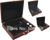 Golf promotional gift set, golf putter training set ,fine wood box and putter and balls sets 2sets/lot