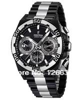Sales promotion Festina F16660-1 Tour de France Limited Edition Men's Chrono Bike Black Dial Black Steel Quartz Watch F16660/1