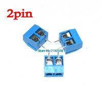 Free Shipping 100PCS 2 Pin Screw Terminal Block Connector 5mm Pitch 5.08-301-2P 301-2P
