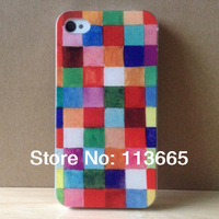 painting case for iphone 5s 5 4s 4  hard plastic case +Free Shipping