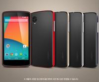SGP Nexus 5 Spigen  Hybrid Neo Case for LG Google Nexus 5 E980 PC Silicone Protective Phone Cases Bags
