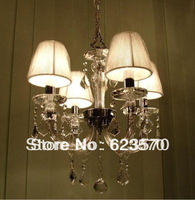 4lamp crystal chandelier.Free shipping to all the country.