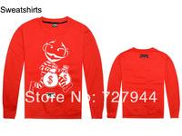 2014 New arrival Crooks and Castles Sweatshirts Men's Clothing fashion long sleeve O Neck Brand Men Casual sports Sweatshirts